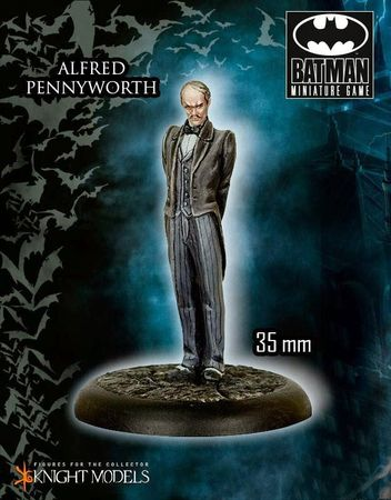 BMG Batman Cover Rulebook (Englisch) + Alfred Pennyworth Miniature – Bild 3
