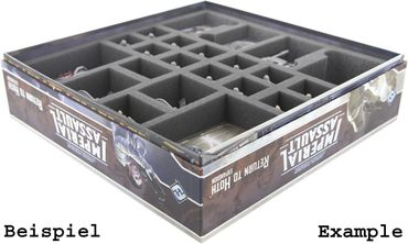 Schaumstoffeinlage 50mm für Star Wars Imperial Assault Return To Hoth Box – Bild 4