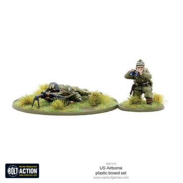US Airborne Paratroopers Late WWII 28mm – Bild 3