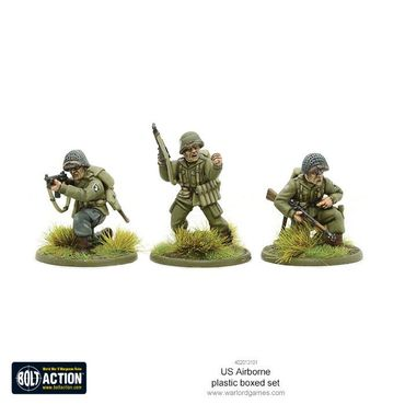 US Airborne Paratroopers Late WWII 28mm – Bild 4