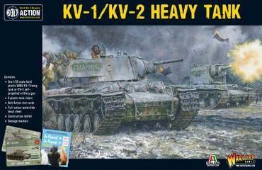 Soviet KV-1 / KV-2 Heavy Tank 28mm – Bild 1