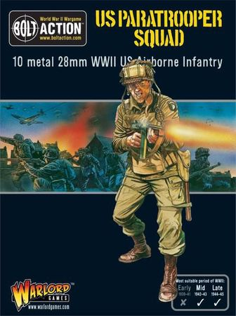 US Aiborne Paratrooper Squad 28mm – Bild 1
