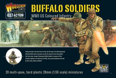 Buffalo Soldiers Black US Troops 28mm – Bild 1