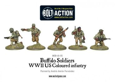 Buffalo Soldiers Black US Troops 28mm – Bild 2