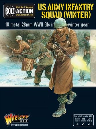US Army Infantry Squad in Winter Clothing 28mm – Bild 1