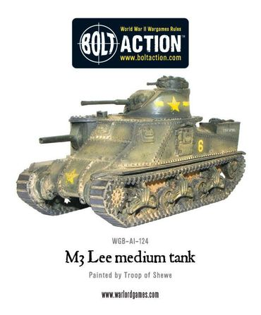 M3 Lee Medium Tank 28mm – Bild 1