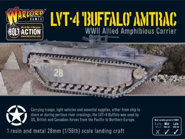 LVT-4 Buffalo Amtrac 28mm – Bild 1