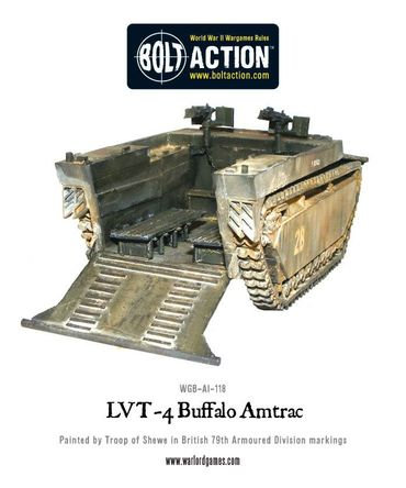 LVT-4 Buffalo Amtrac 28mm – Bild 4