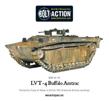 LVT-4 Buffalo Amtrac 28mm – Bild 3
