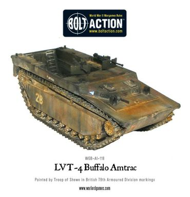 LVT-4 Buffalo Amtrac 28mm – Bild 2