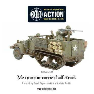 M21 Mortar Carrier Half Track 28mm – Bild 4