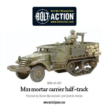 M21 Mortar Carrier Half Track 28mm – Bild 2