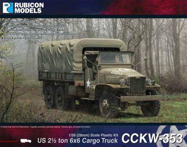 CCKW-353 US 2½ Ton 6x6 Truck 1/56 (28mm) – Bild 1