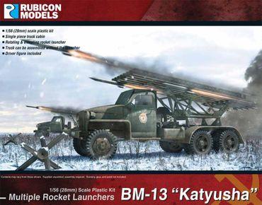 BM-13 Katyusha MRL 1/56 (28mm) – Bild 1