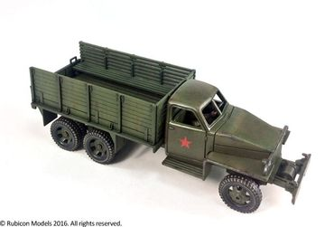 US6 U3/U4 Allies 2,5 ton 6x6 Truck 1/56 (28mm) – Bild 3