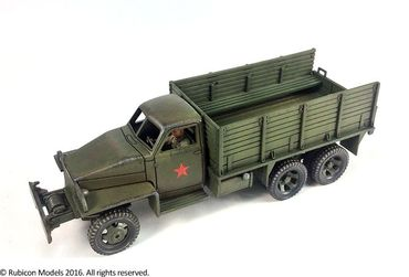 US6 U3/U4 Allies 2,5 ton 6x6 Truck 1/56 (28mm) – Bild 2