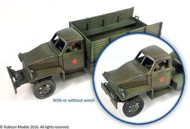 US6 U3/U4 Allies 2,5 ton 6x6 Truck 1/56 (28mm) – Bild 6