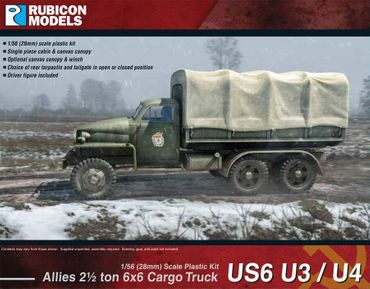 US6 U3/U4 Allies 2,5 ton 6x6 Truck 1/56 (28mm) – Bild 1