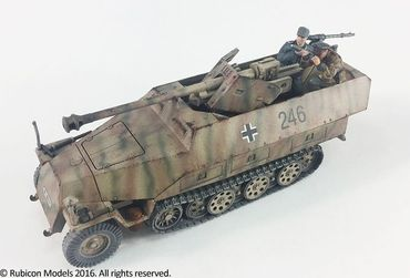 SdKfz 250/251 Expansion Set for SdKfz 251/22 Ausf D 1/56 (28mm) – Bild 6