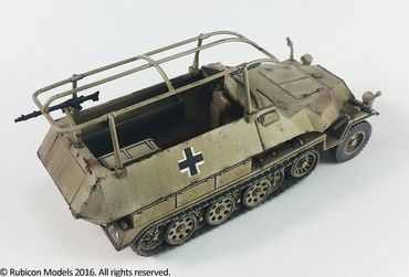 SdKfz 250/251 Expansion Set for SdKfz 250/3 and 251/3 1/56 (28mm) – Bild 3