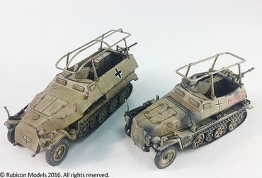SdKfz 250/251 Expansion Set for SdKfz 250/3 and 251/3 1/56 (28mm) – Bild 2