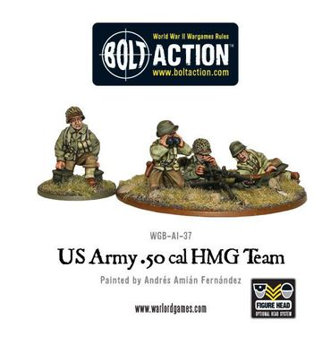 US Army 50 Cal HMG Team 28mm – Bild 1