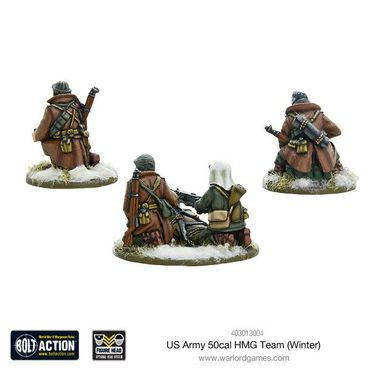US Army 50cal HMG Team Winter 28mm – Bild 2