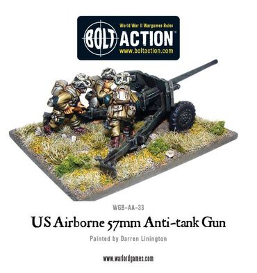 US Airborne 57mm Anti-Tank Gun 28mm – Bild 2