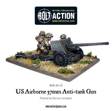 US Airborne 57mm Anti-Tank Gun 28mm – Bild 1
