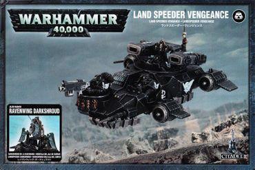 Dark Angels Land Speeder Vengeance / Darkshroud [GW WEB EXKLUSIV]