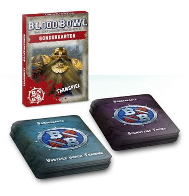 Blood Bowl Sonderkarten Teamspiel (Deutsch)