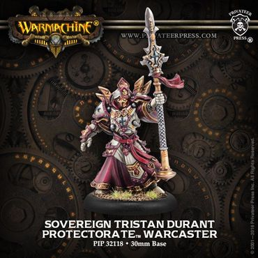 Protectorate of Menoth Sovereign Tristan Durant Warcaster