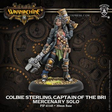 Mercenary Colbie Sterling Captain of the B.R.I. Solo
