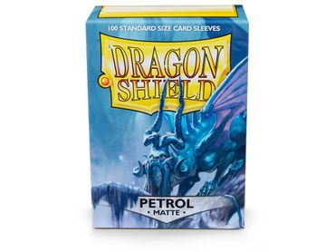 Dragon Shield Matte Petrol 100 protective Sleeves – Bild 1