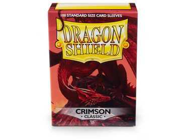 Dragon Shield Crimson 100 protective Sleeves – Bild 1