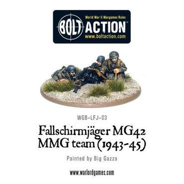 Fallschirmjager MG42 MMG Team 28mm – Bild 1