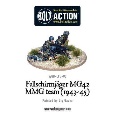 Fallschirmjager MG42 MMG Team 28mm – Bild 2