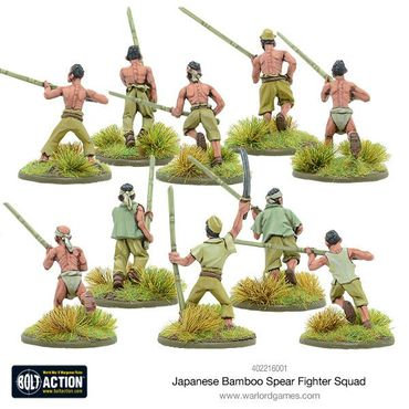 Japanese Bamboo Spear Fighter Squad 28mm – Bild 3