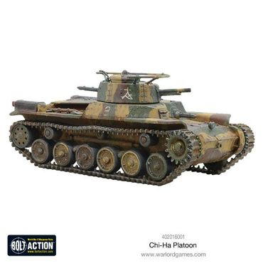 Chi-Ha Platoon Japanese Medium Tanks 28mm – Bild 3