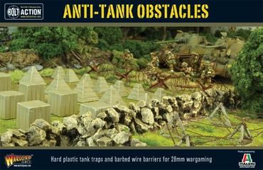 Anti-Tank Obstacles plastic box set 28mm