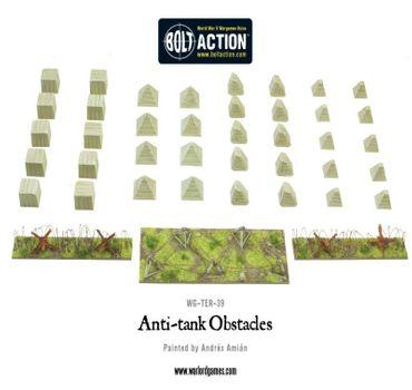 Anti-Tank Obstacles plastic box set 28mm – Bild 2