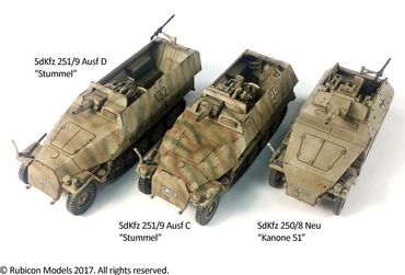 SdKfz 250/251 Expansion Set for SdKfz 250/8 and 251/9 1/56 (28mm) – Bild 4