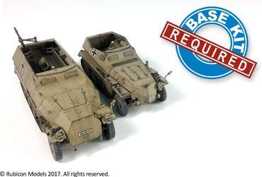 SdKfz 250/251 Expansion Set for SdKfz 250/7 and 251/2 1/56 (28mm) – Bild 2