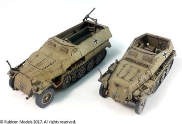 SdKfz 250/251 Expansion Set for SdKfz 250/7 and 251/2 1/56 (28mm) – Bild 3