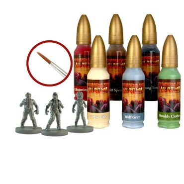 The Walking Dead Walker Paint Set All Out War – Bild 1