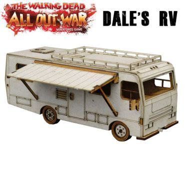 The Walking Dead Dale's RV Winnebago Chieftain All Out War