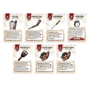 The Walking Dead Equipment Booster (Englisch) All Out War – Bild 4
