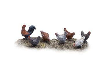 Hühner und Hahn Set 1 (7)