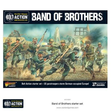 Bolt Action 2 Starter Set Band of Brothers 28mm (Deutsch) – Bild 1