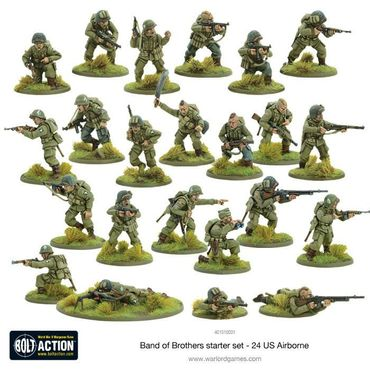 Bolt Action 2 Starter Set Band of Brothers 28mm (Deutsch) – Bild 4